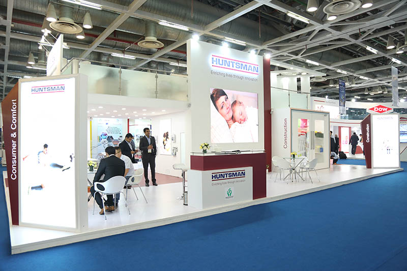 premium exhibition agency India, exhibition stand designer for PU Tech