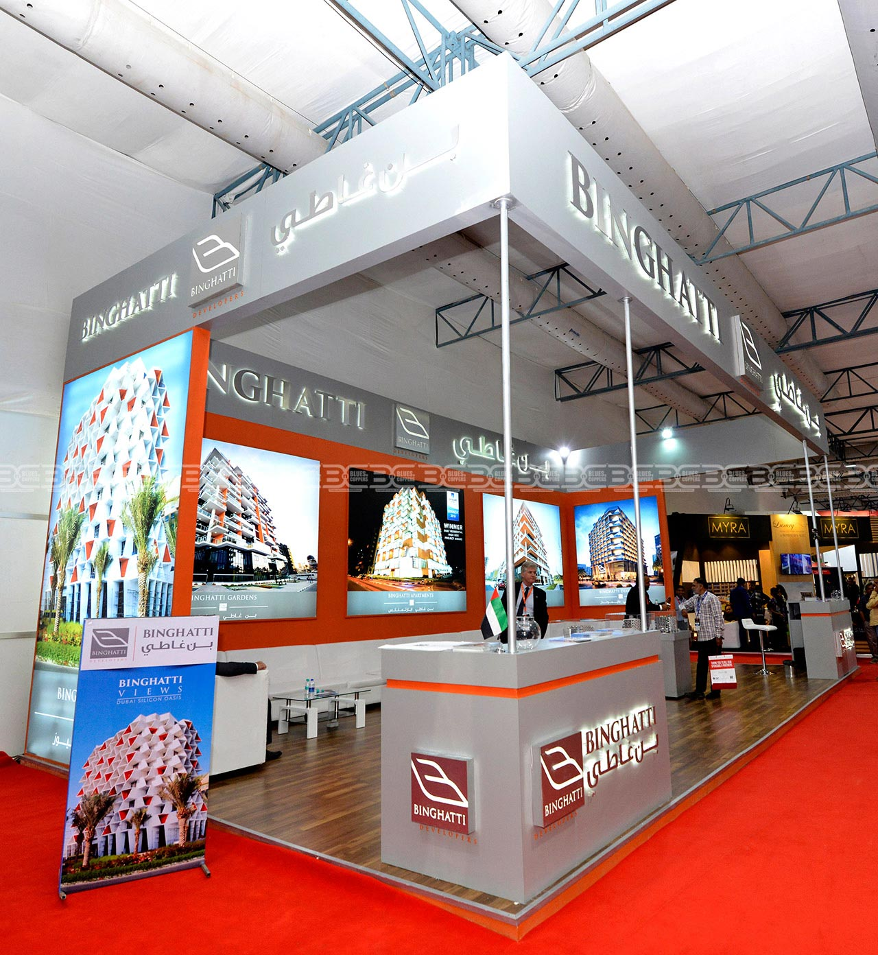 Booth Design and Build Real Estate Mumbai India