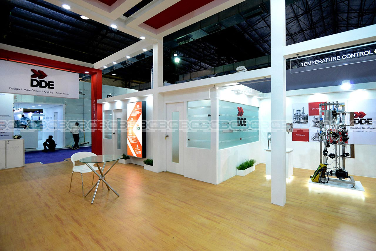 Booth Construction UBM CPHI India