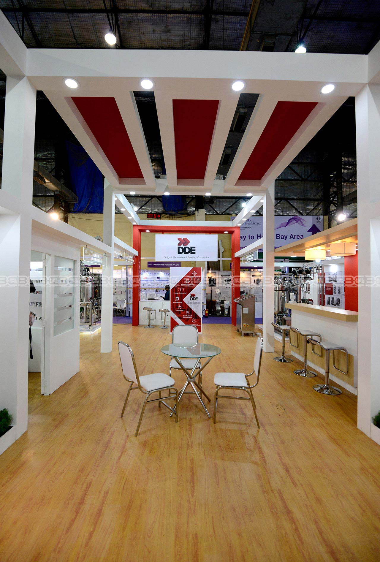 Trade Show Booth Contractor Mumbai India