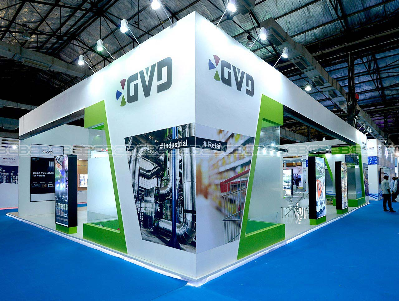 Stall Design and Fabrication Mumbai India