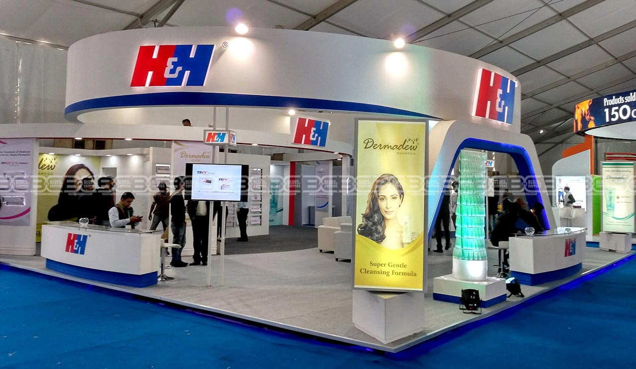 Custom Built Exhibition Stand India Mumbai