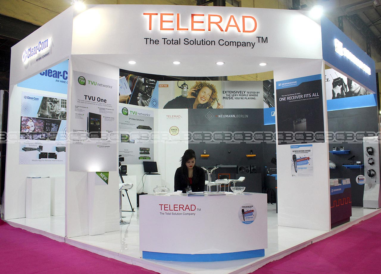 Leading Exhibition stall contractor India